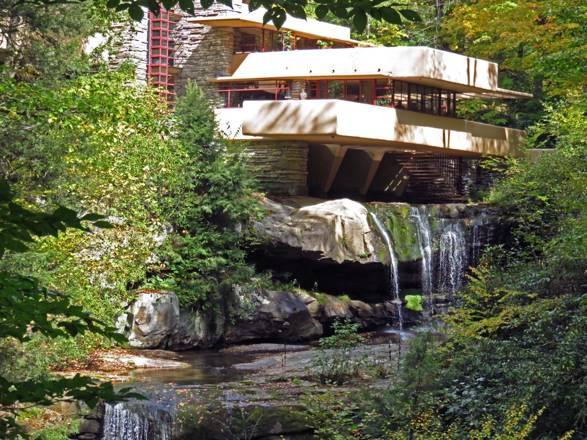 10. Fallingwater