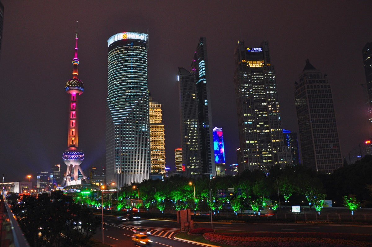 12. Shanghai at night