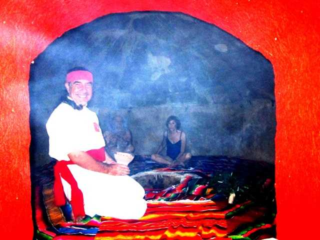 2. Inside the Sweat Lodge