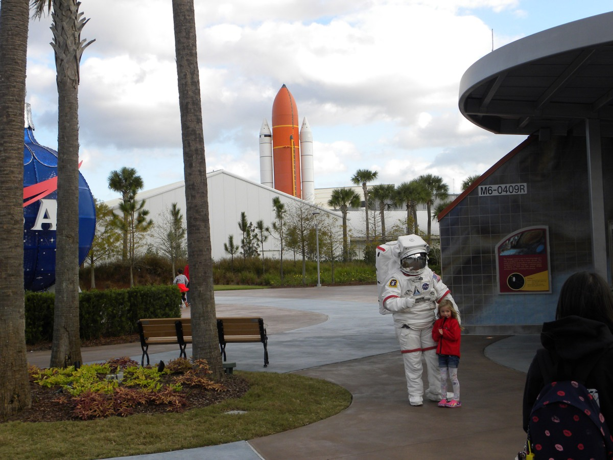 2   Kennedy Space Center astronaut