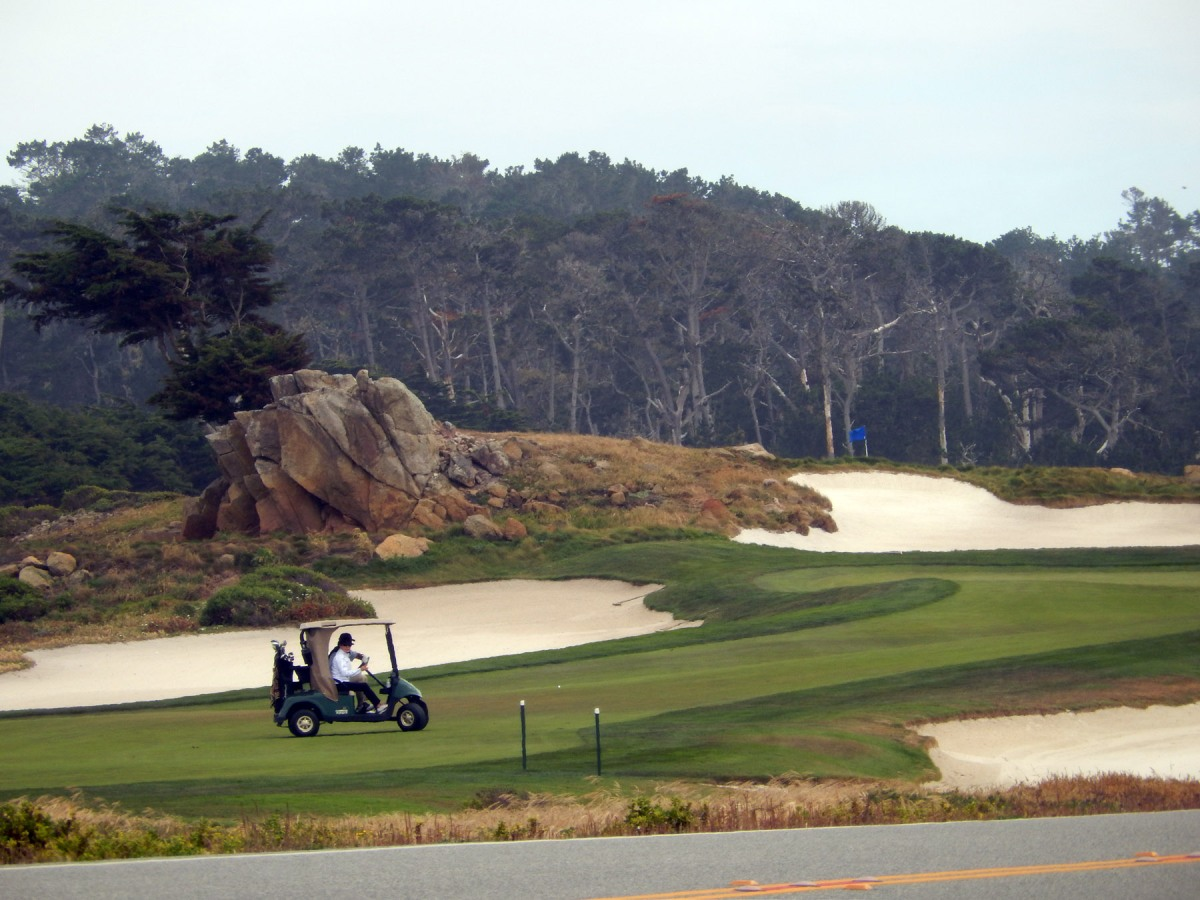 2    pebble beach golf course