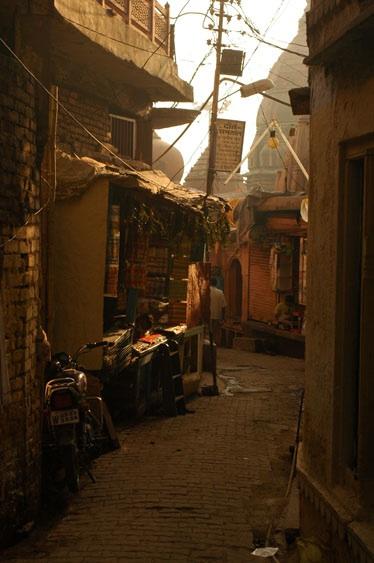 Backstreets of Varanasi