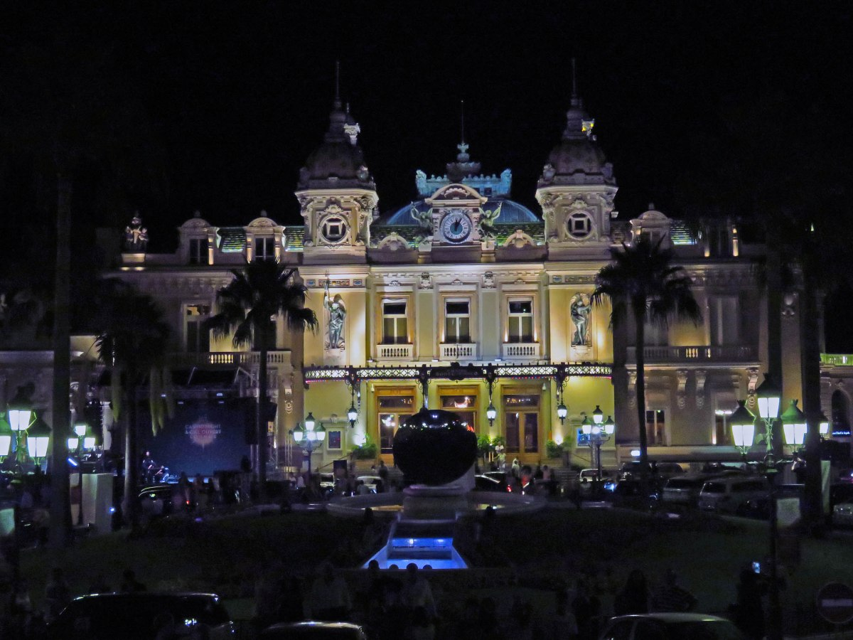 3. Casino at night