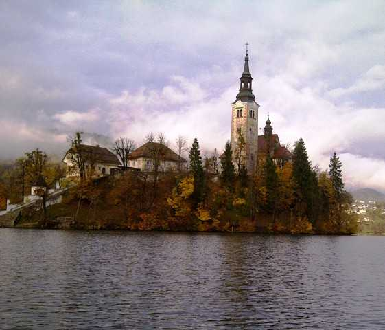 3. Church on island
