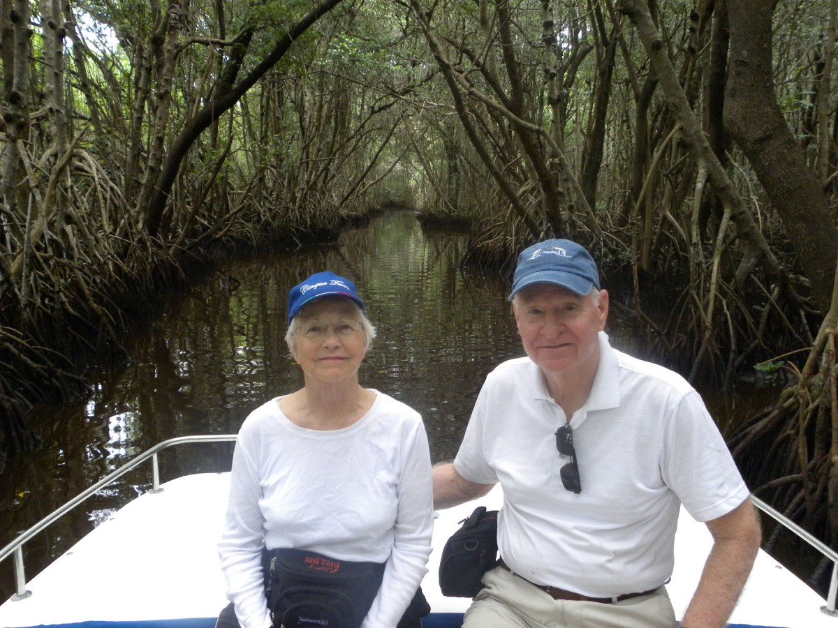 3  entering mangrove tunnels