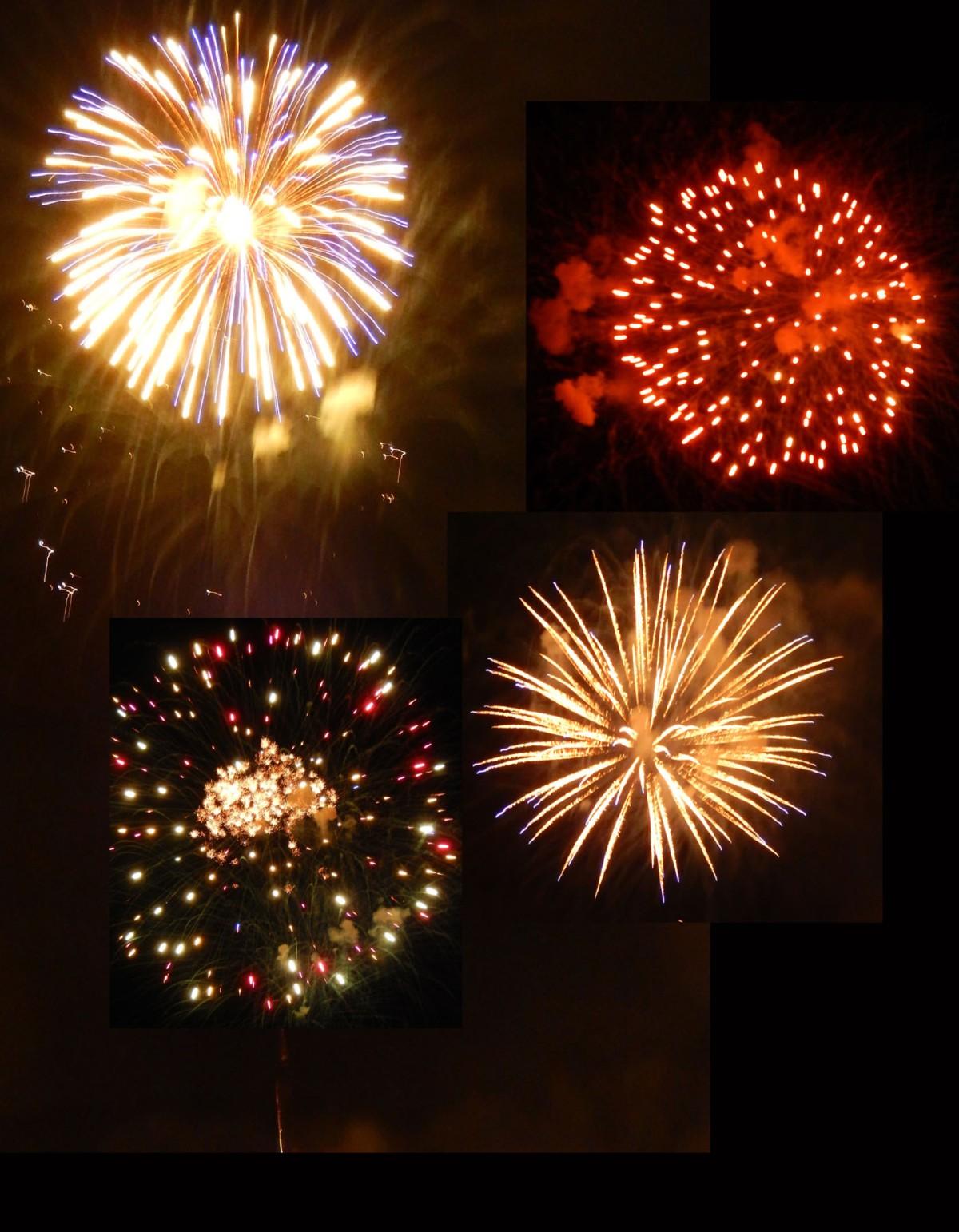 3  fireworks
