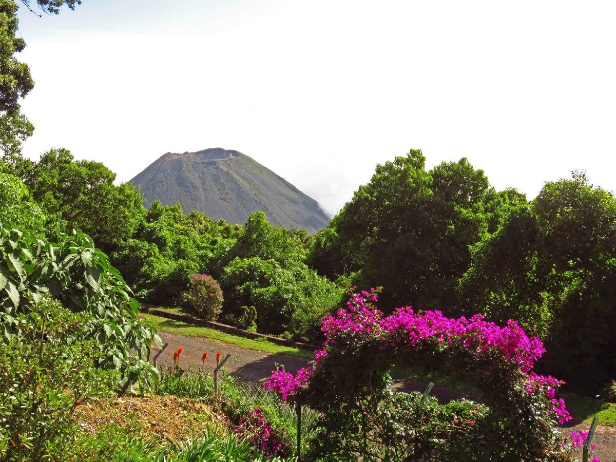 4. Izalco volcano
