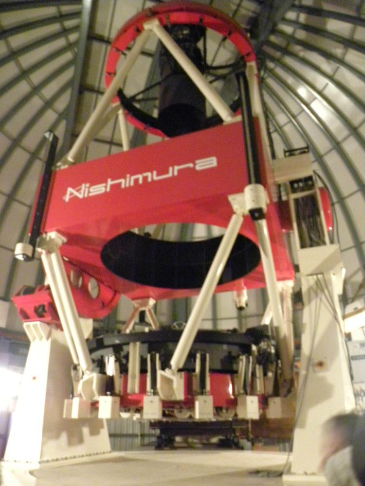4 mt John telescope 450K