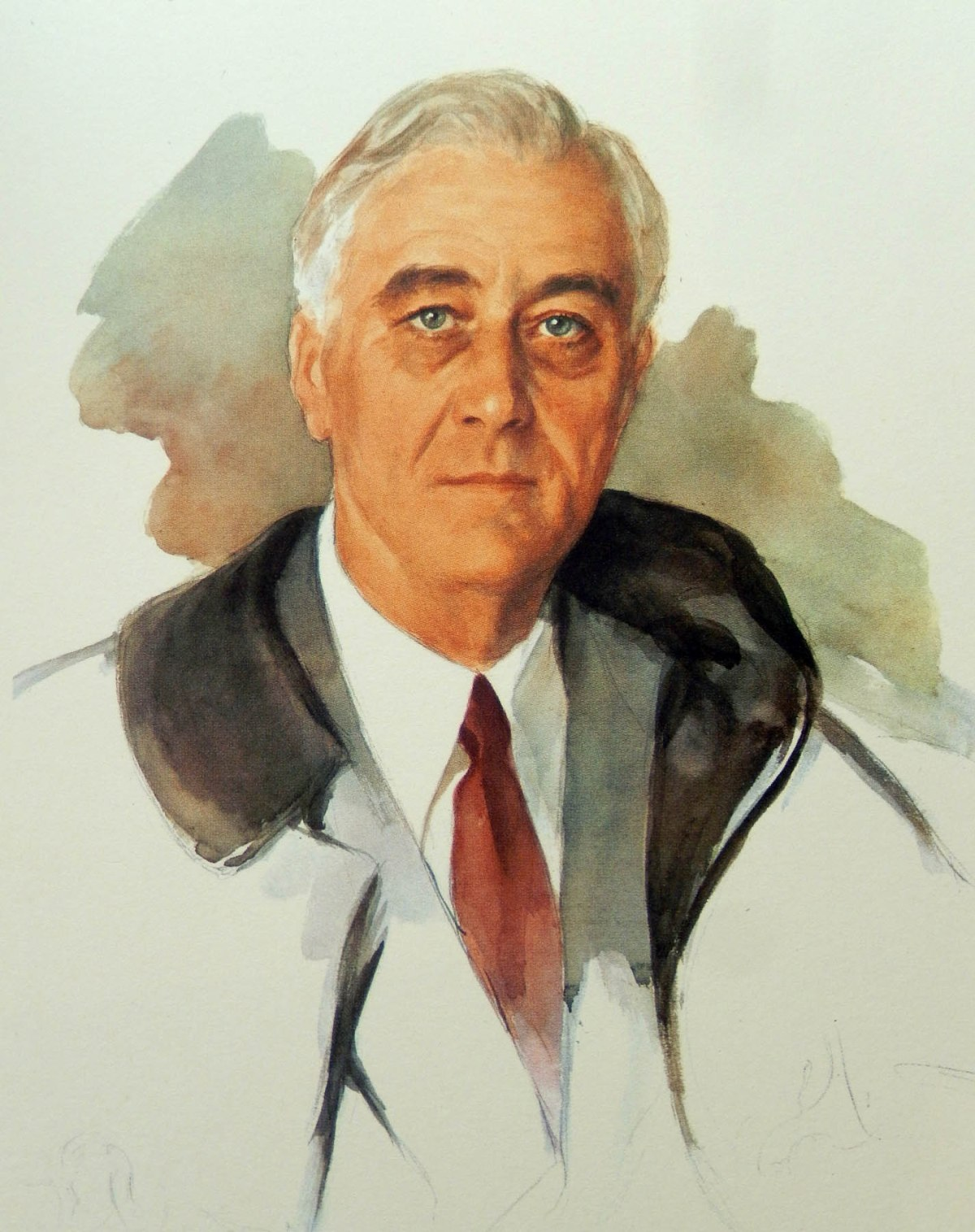 5  FDR Unfinished Portrait