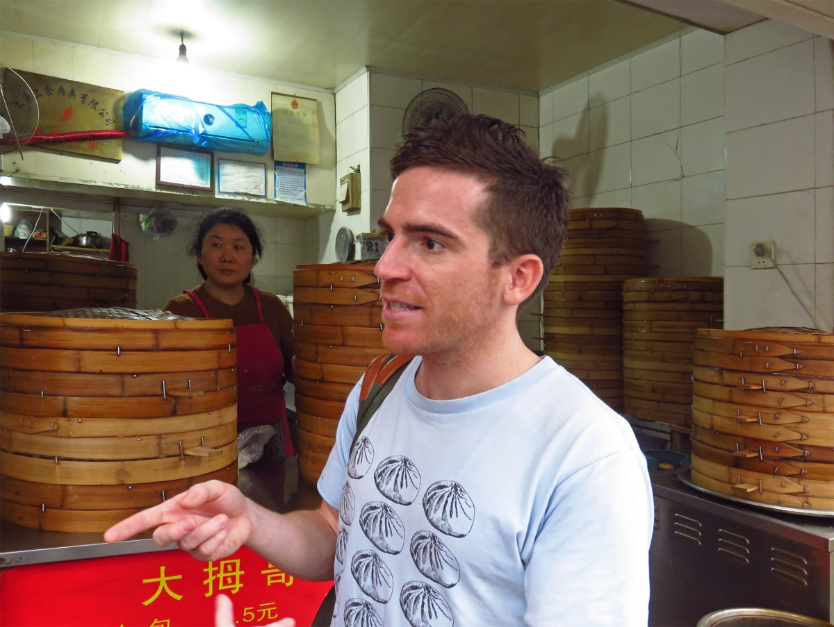 5. Kyle Long of UnTour Shanghai Food Tours