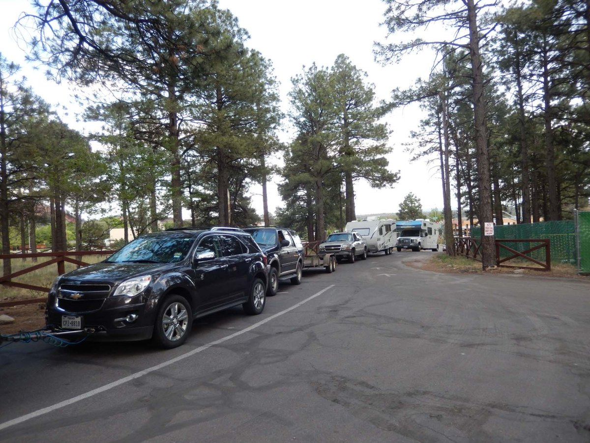 6   Flagstaff  traffic bumper to bumper