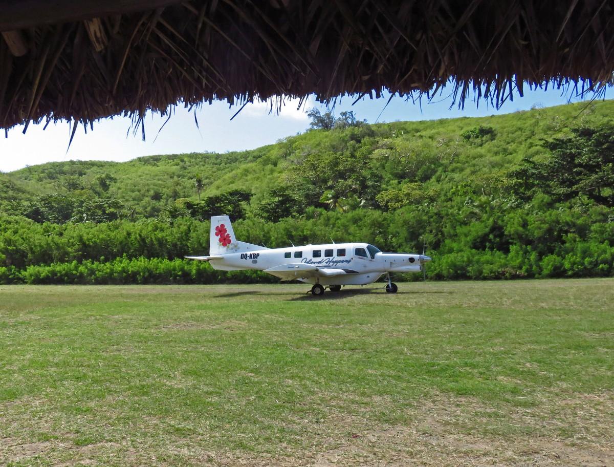 6. Landing in Yasawa