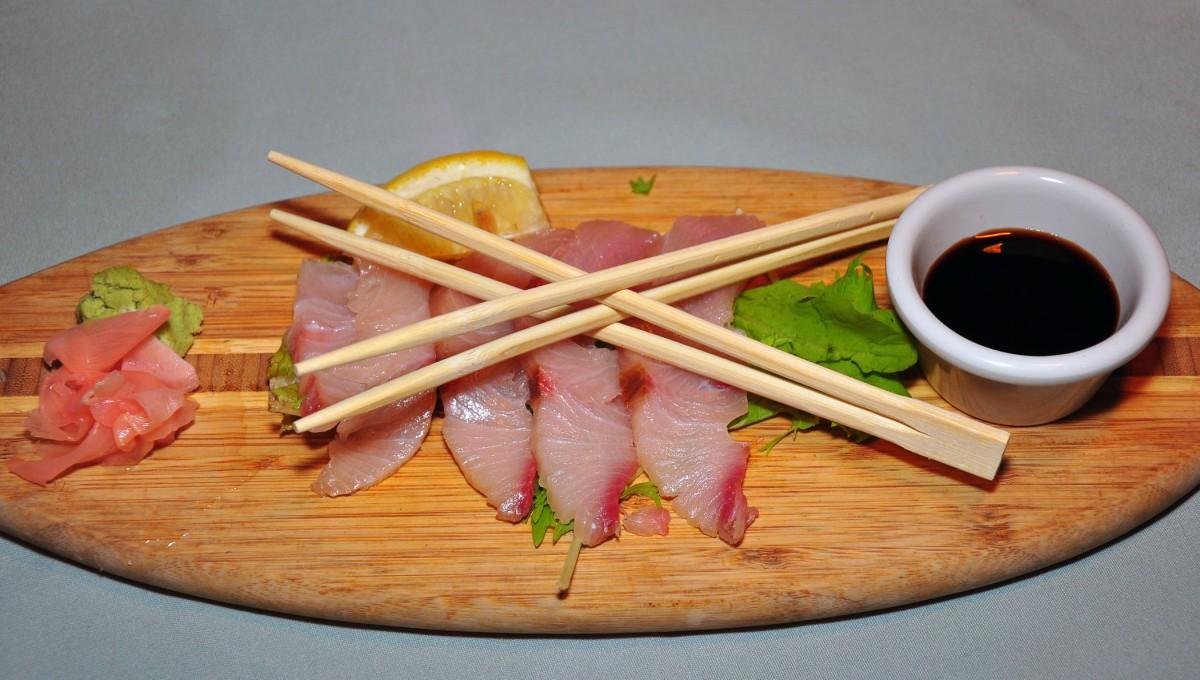 8. Sashimi at Mediterranian Gourmet