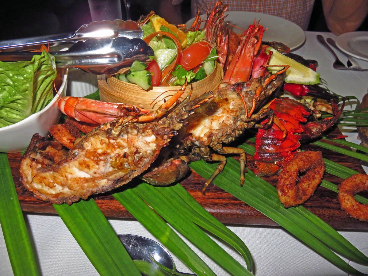 9. Local seafood