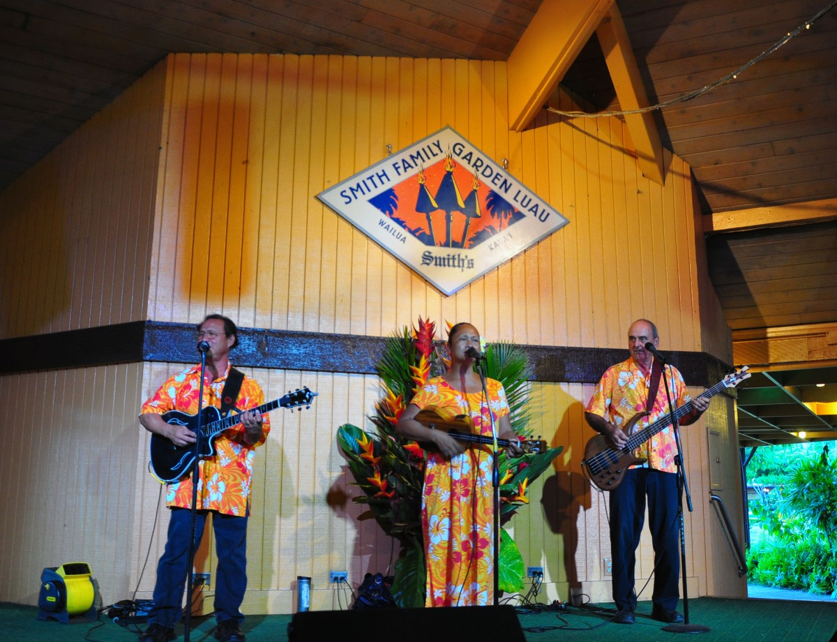 9. Music at Smiths Garden Luau