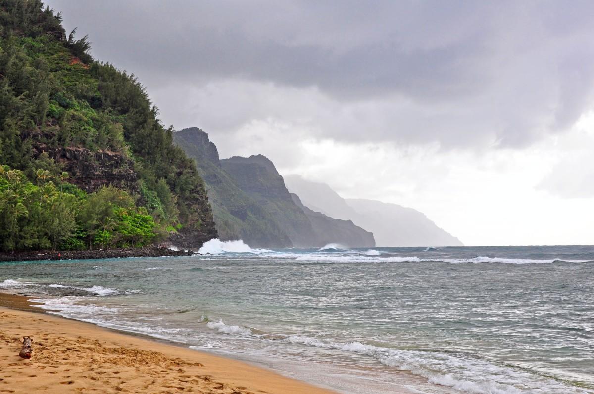 Hanalei Bay Kee Beach