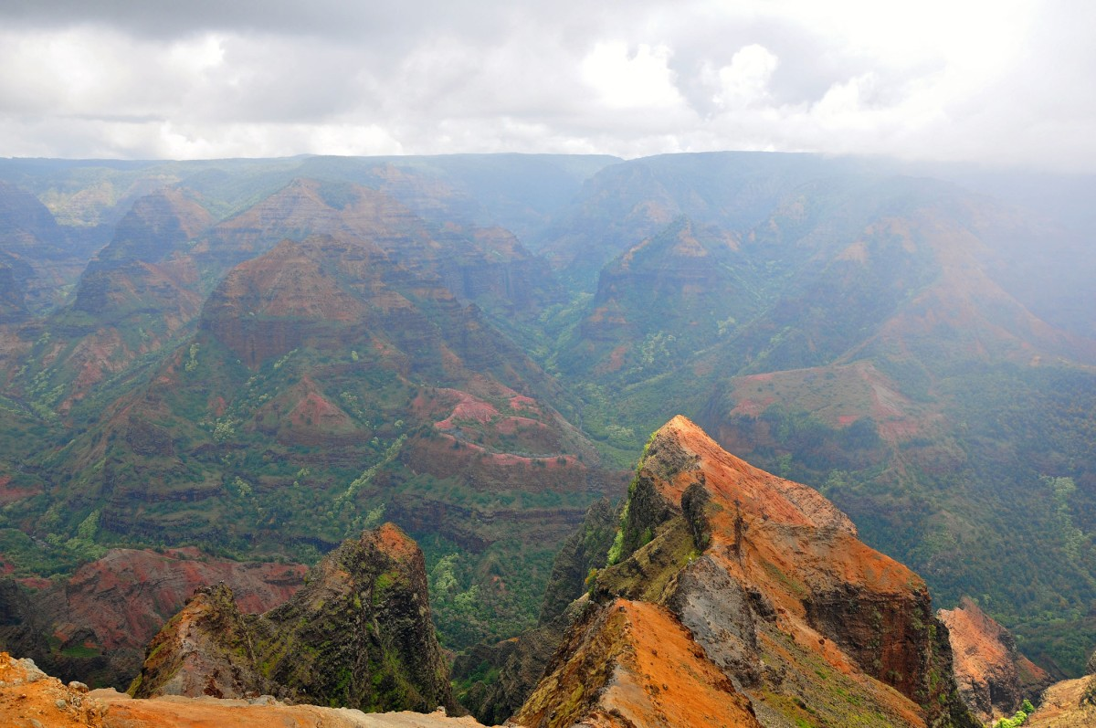 Waimea Canyon view