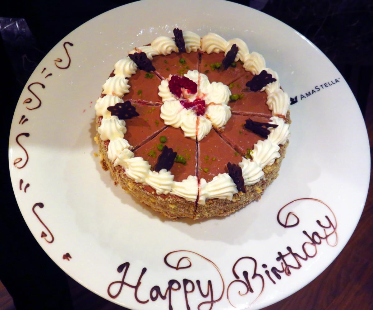 Birthday cake on AmaStella