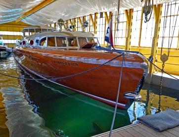 7. Thunderbird boat