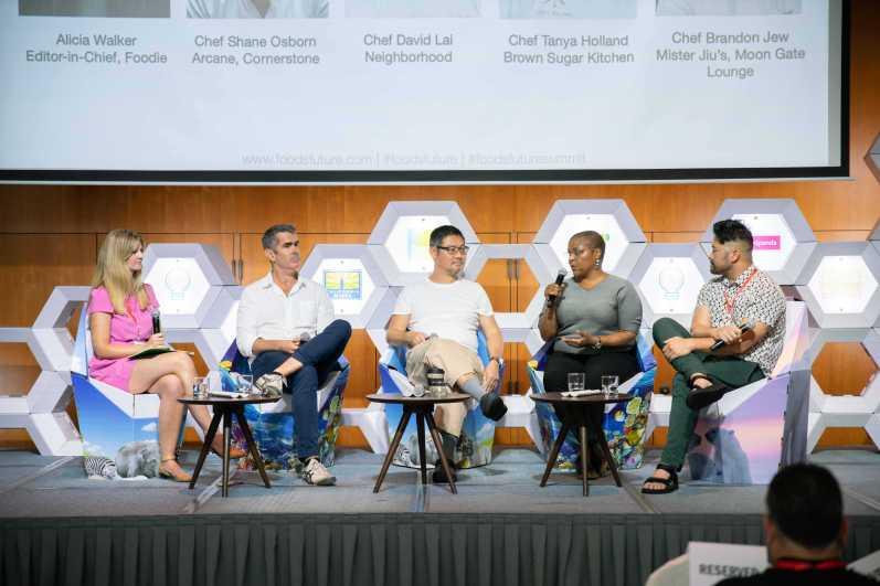 Summit Chefs panel