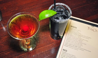 TusCA cocktails