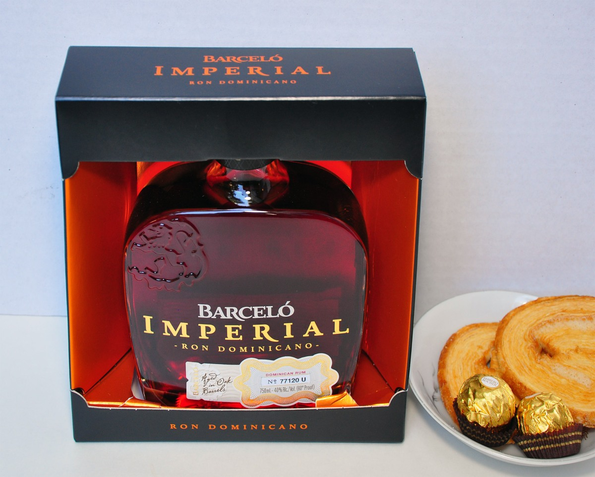 1. Barcelo rum in box