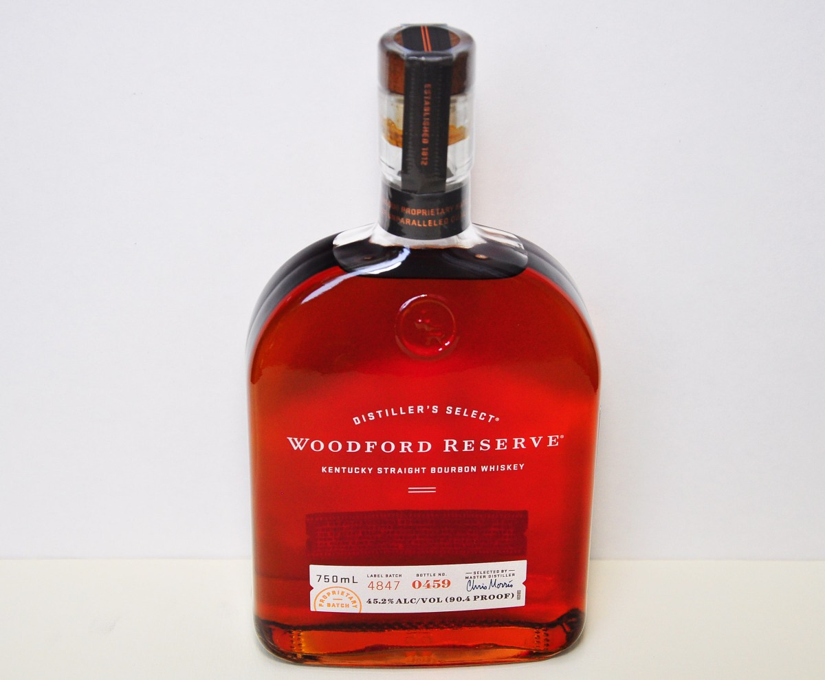 2. Woodford Reserve Whiskey