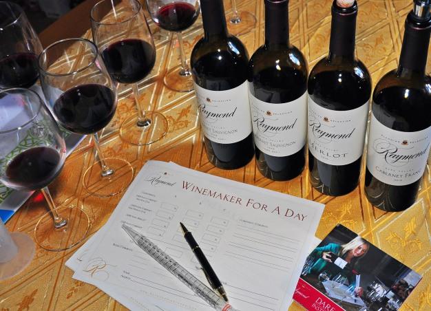 7. Raymond wine blending