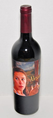 8. A bottle of Alexandra wine